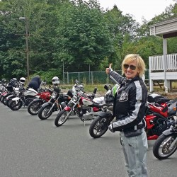 Canadian Women Ride Day Cowachin Valley Vancouver Island