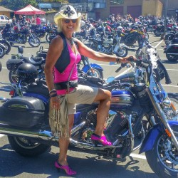 3rd Annual Canadian Women's Ride Day 2015 on Vancouver Island BC